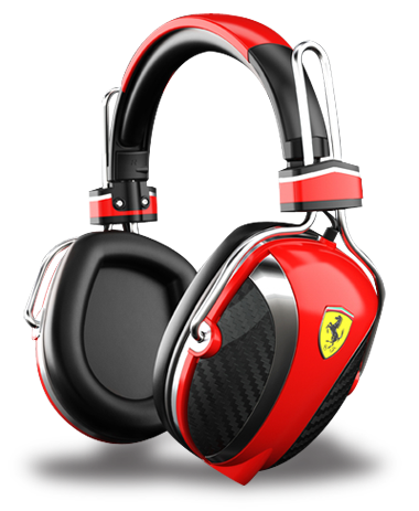 Ferrari headphones