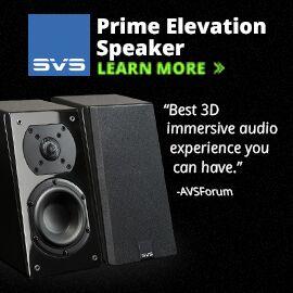 SVS Prime Elevation