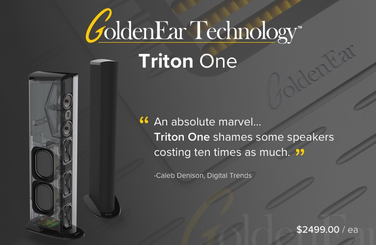 GoldenEar Triton One