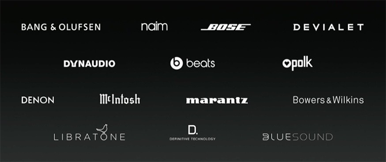 AirPlay 2 brands